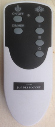 Favoriete Afstandsbediening Jan de Bouvrie plafondventilator YG88