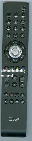 Cisco ziggo afstandsbediening